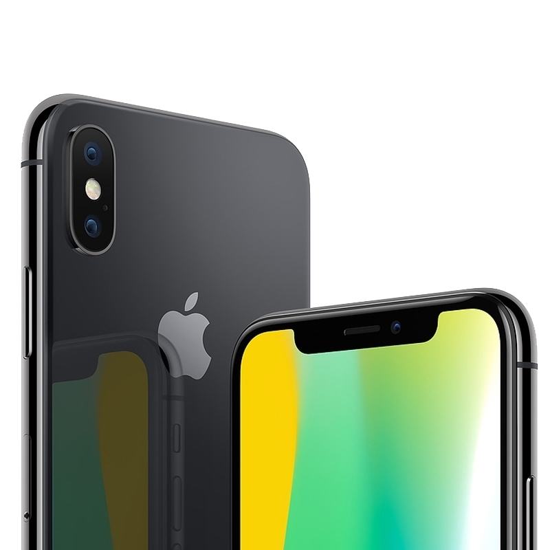 Apple IPhone X Mobile Phone 256GB 5 8 Inch With Tempered Glass