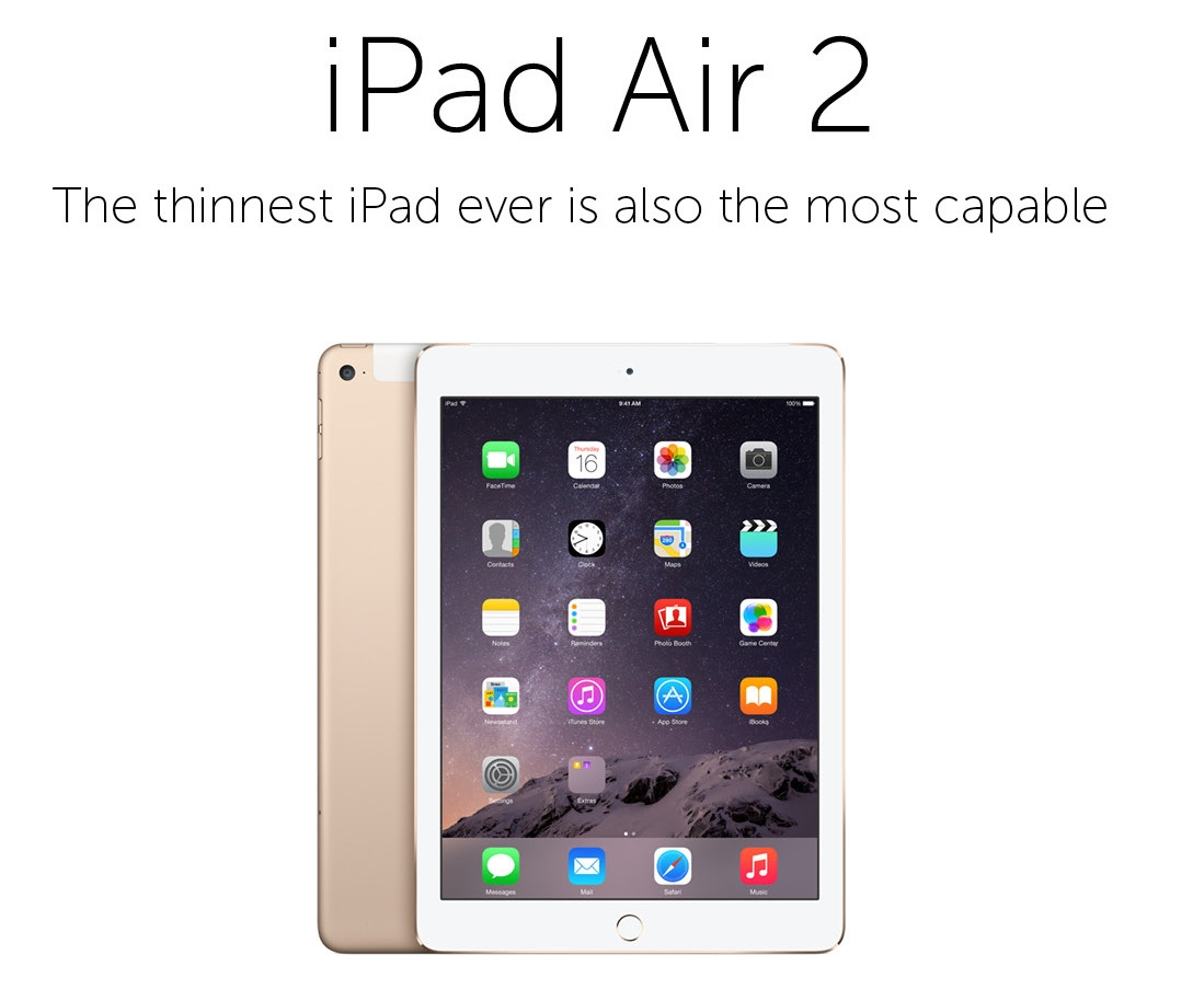 Buy Apple Ipad Air 2 32gb Wifi Cellular Tablet Gold