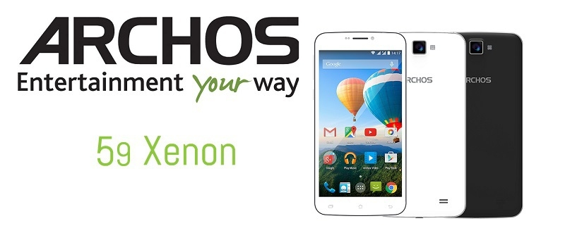 Archos 59 Xenon balck and whit