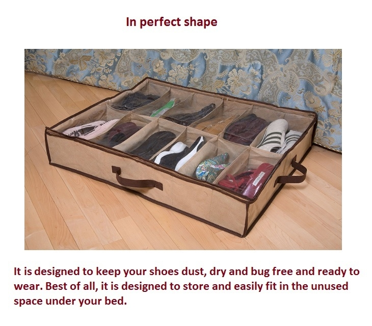 Shoe Organiser With Zipper on Jumia