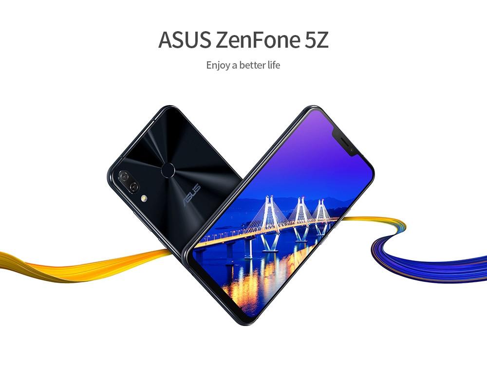 ASUS ZenFone 5Z 4G Phablet Qualcomm Snapdragon 845 6GB RAM 64GB ROM