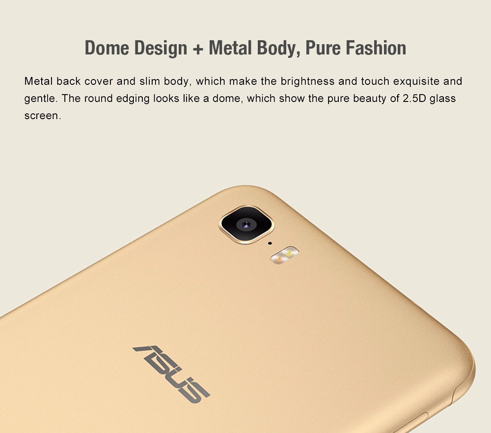 ASUS Zenfone Pegasus 3s Max ( ZC521TL ) 4G Smartphone Android 7.0 5.2 inch MTK6750 Octa Core 1.5GHz 3GB RAM 32GB ROM Fingerprint Scanner 5000mAh Battery