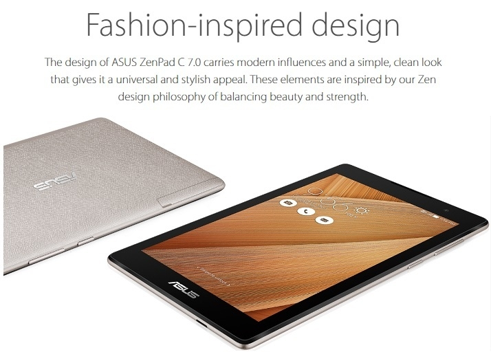 Asus Zenpad Z170CG on Jumia