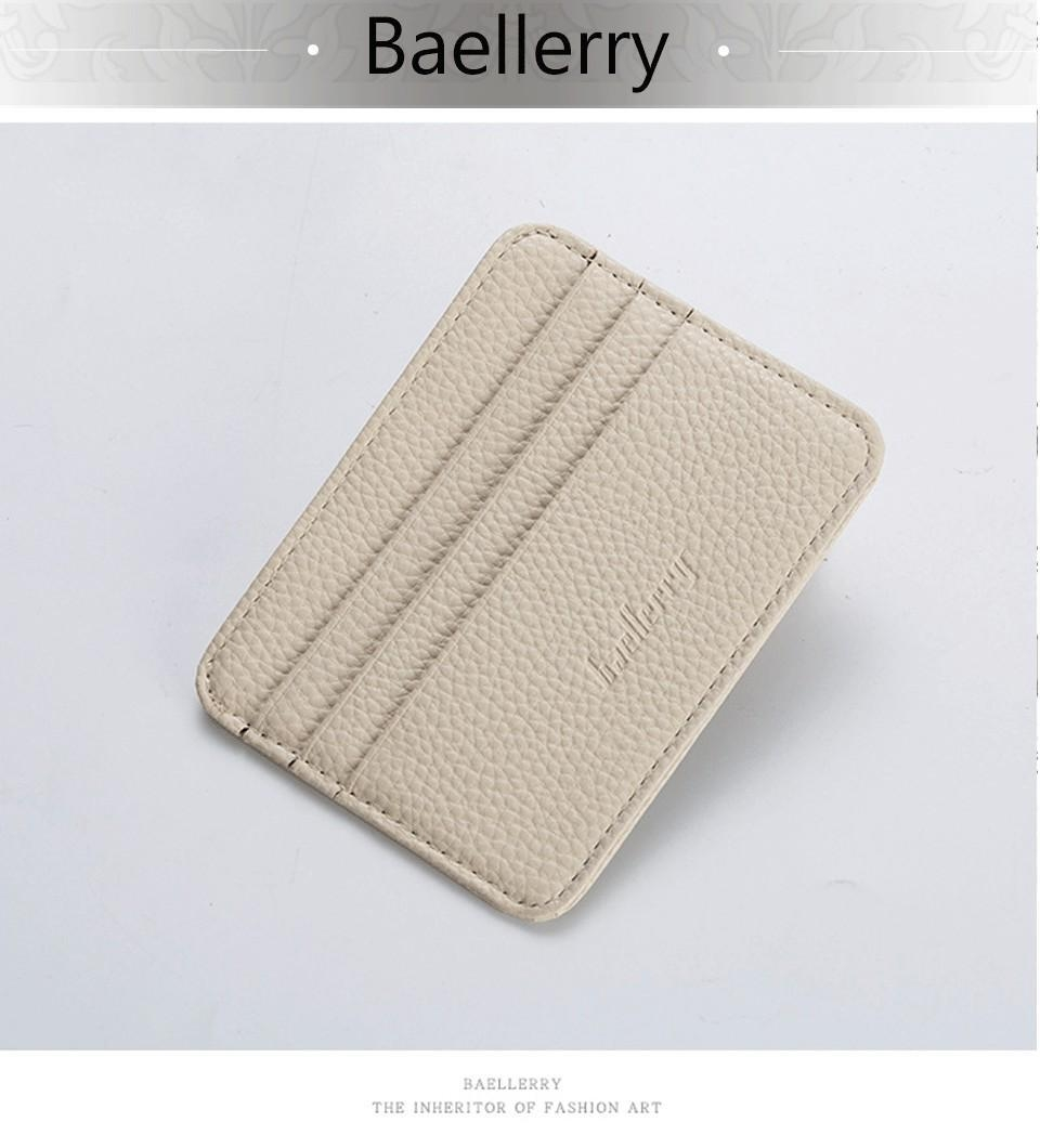 02417ed8f85e 1 PC Men's 3 Credit Cards Business Pocket Slim Thin ID Credit Card Money  Holder Wallets For Women HSAI-O