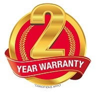2 year warrany logo 2705 binatone