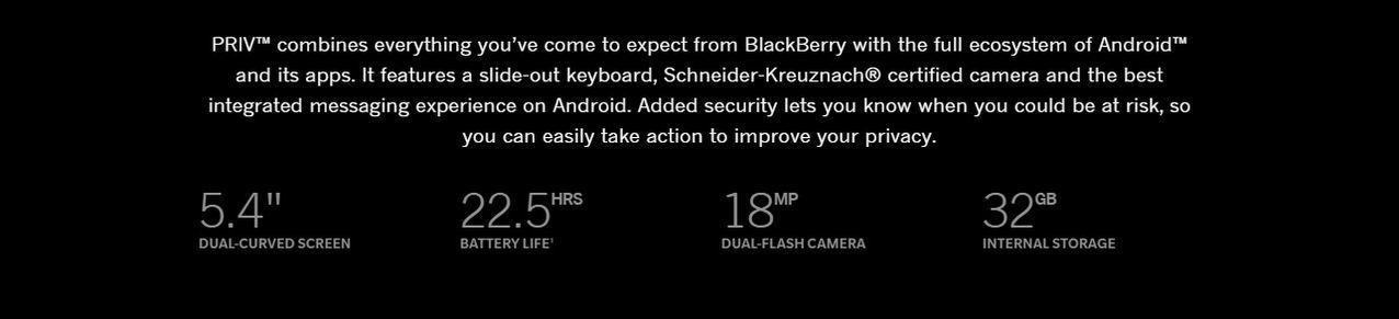 BlackBerry Priv on Jumia