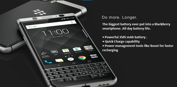 Blackberry KeyOne 3505mAh battery