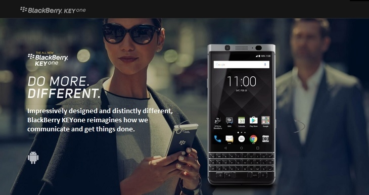 Blackberry KeyOne on Jumia at best price