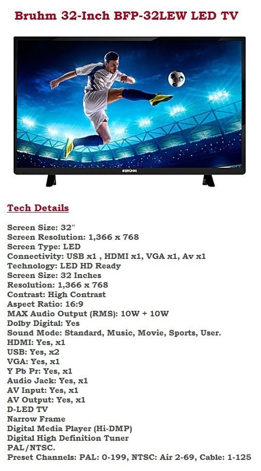 buy affordable led TVs in nigeria