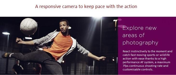 Canon EOS 80D responsive camera