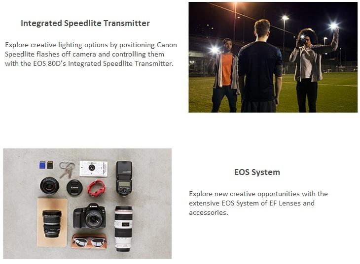 Canon EOS 80D EOS System