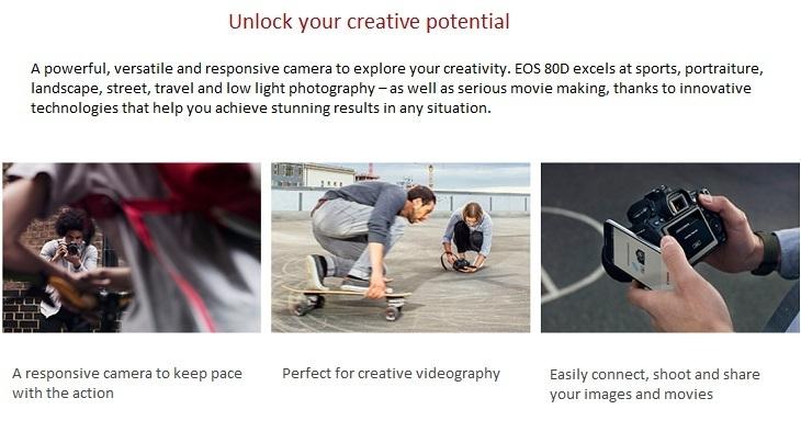 Canon EOS 80D on Jumia