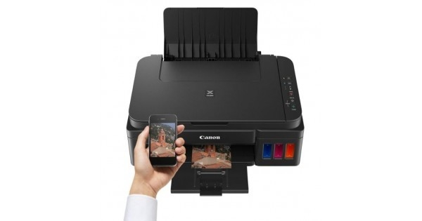 Canon Pixma G1400 Photo& Document Color Ink Tank Technology ...