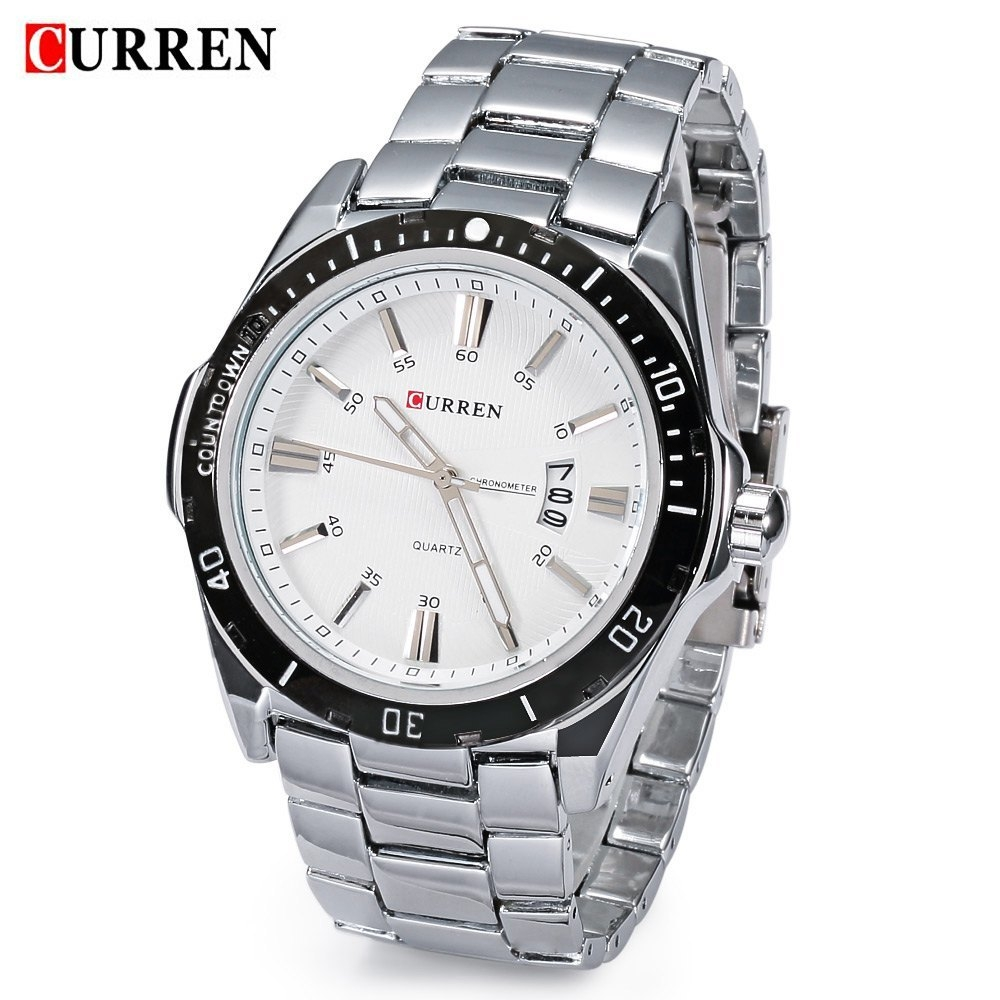 Curren men 39 s quartz watch stainless steel 8110 silver buy online jumia nigeria for Curren watches