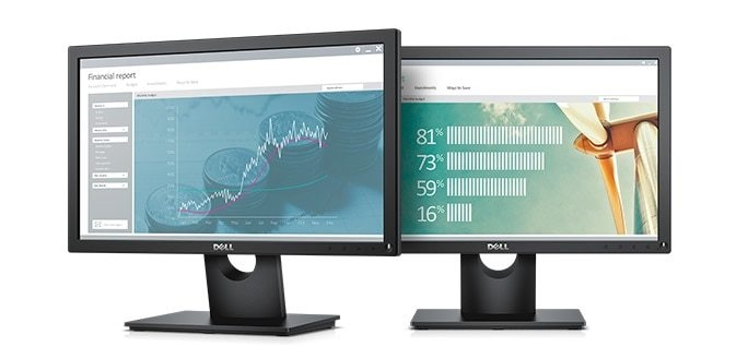 Dell 19 Monitor - E1916H - An everyday office essential