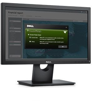 Dell 19 Monitor - E1916H - Eco-conscious and reliable