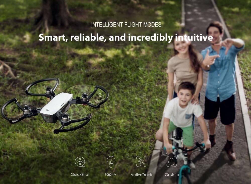DJI Spark Mini RC Selfie Drone WiFi FPV 12MP Camera Quadcopter