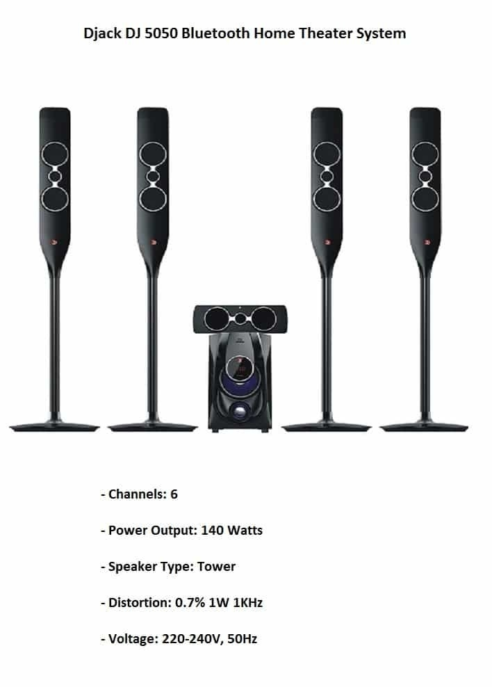 Djack DJ-5050 Home Theater System on Jumia