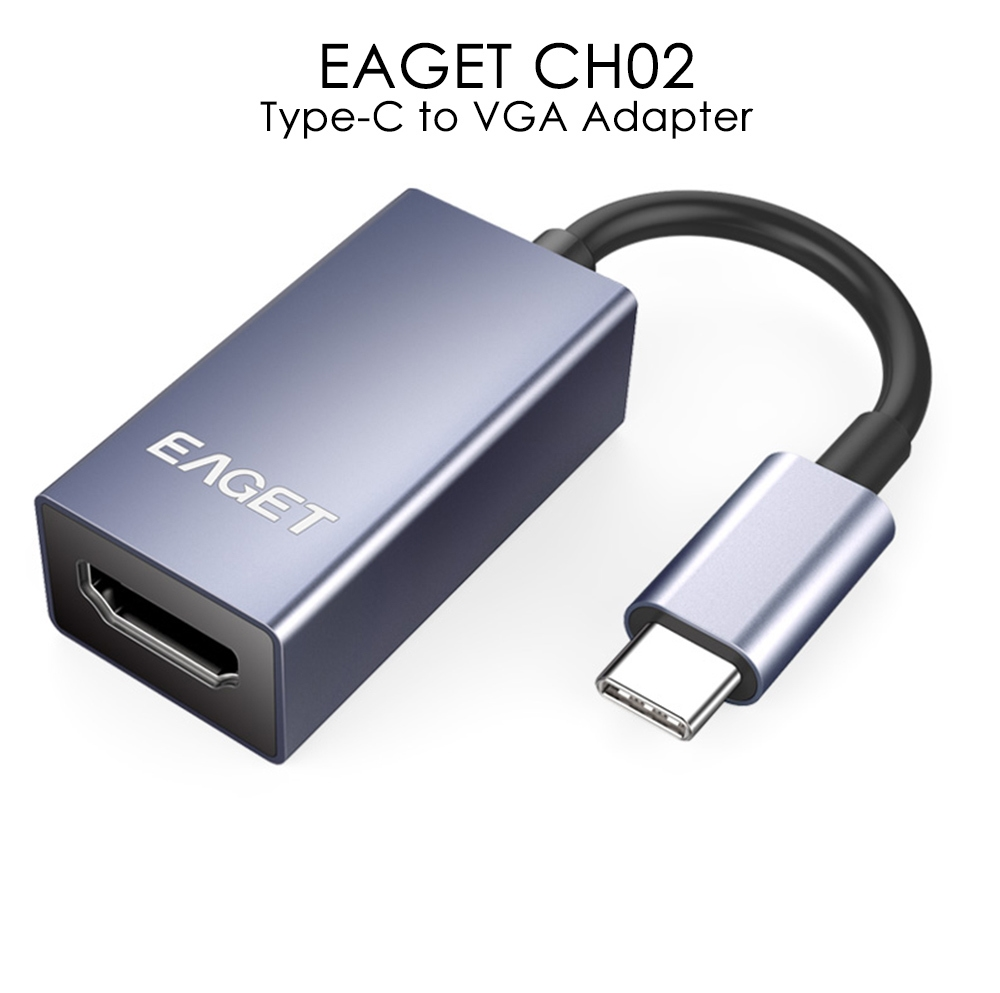 EAGET CH02 Type-C to HDMI Adapter HD Video Converter Support 4K 3D
