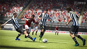 Juventus vs. Milan in FIFA 13