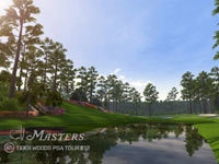 The course at Augusta from Tiger Woods PGA Tour 12: The Masters