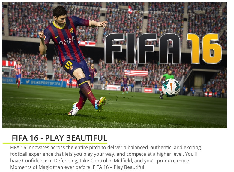 Fifa 16 for PS4. Best Price in Nigeria