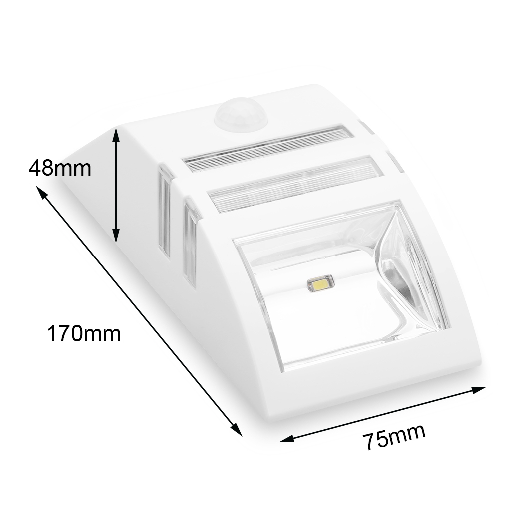 Wall Light Jumia: Excelvan Solar Powered Motion Activated LED Security Wall