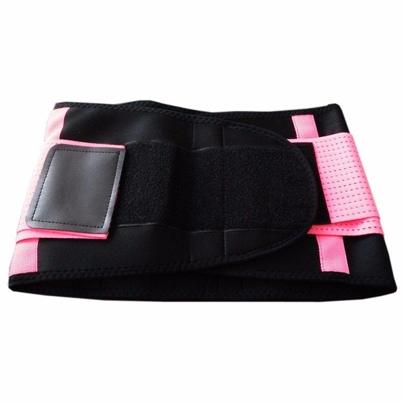 Spine Support Belt bright pink Y123 (1)