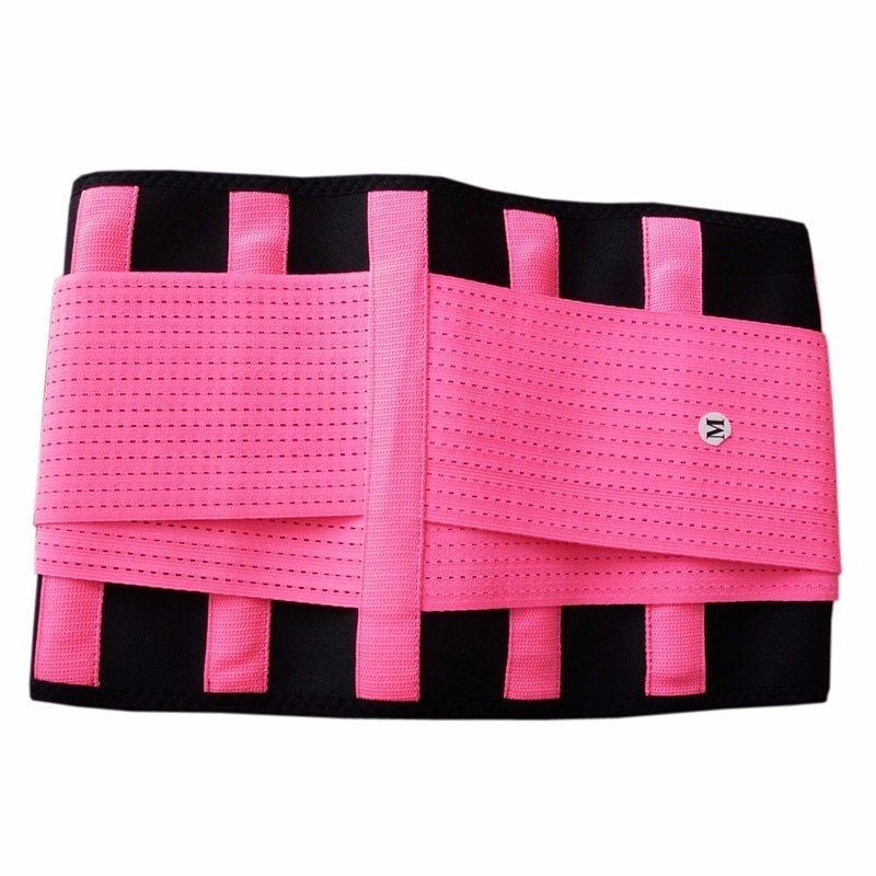 Spine Support Belt bright pink Y123 (2)