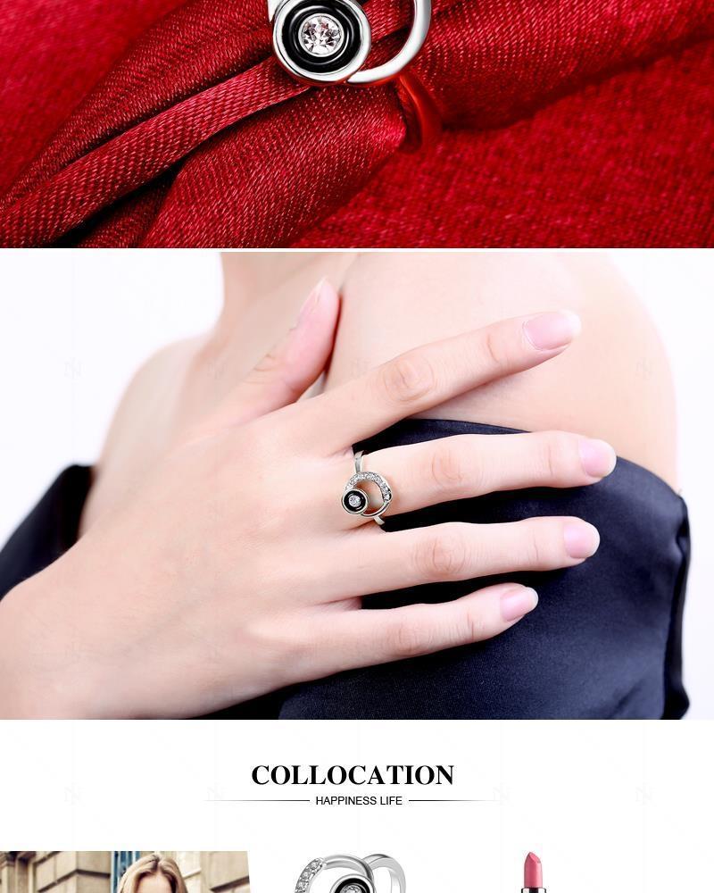 Nigeria | Buy Fashion Gold Silver Plated Ring Wedding Love Crystal ...