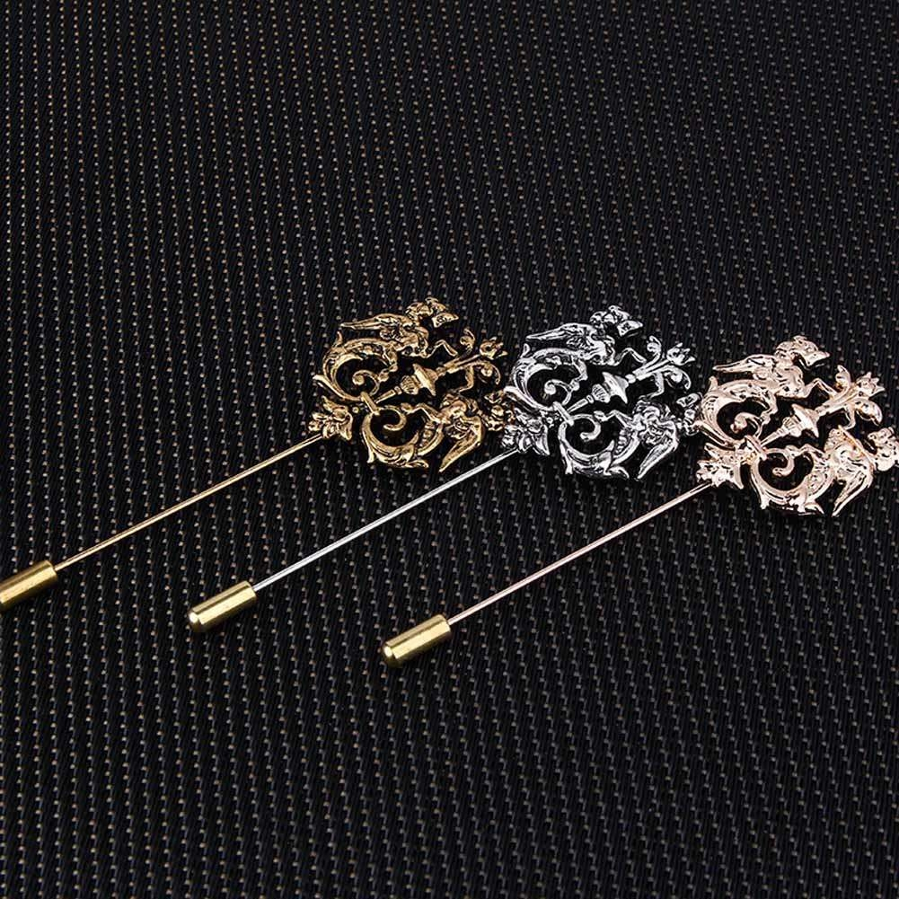 needlework on jewelry a men j tie mens brooch the silver for item handmade jacket suit wedding