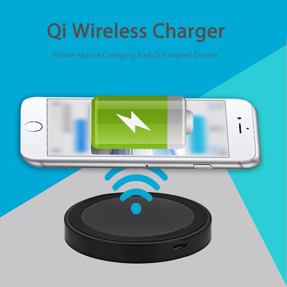 buy fashion qi wireless charger pad charging adapter module for android best price online. Black Bedroom Furniture Sets. Home Design Ideas