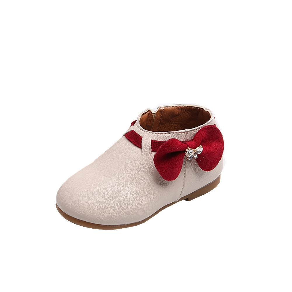 24a96f3c040a Fashion Paidndh Store Toddler Baby Girls Children Fashion Bowknot ...