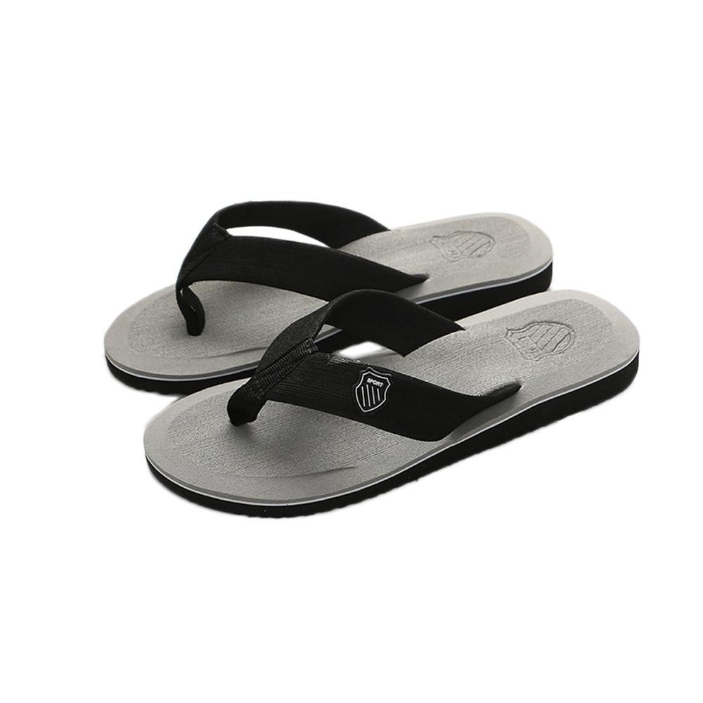 4f17c4e157bd Fashion Men s Summer Casual Flip-flops  Slippers - Grey
