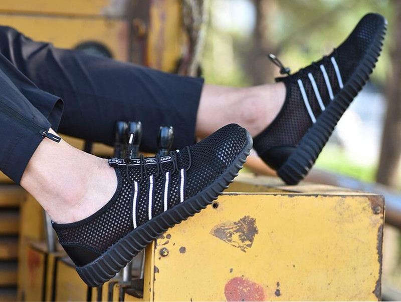 New-exhibition-Fashion-safety-shoes-Men's-breathable-mesh-anti-smashing-piercing-lightweight-steel-toe-cap-wear-site-work-shoes  (16)