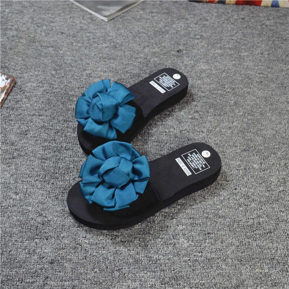 7e75adf81 Fashion Blicool Shop Shoes Women Flower Summer Sandals Slipper ...