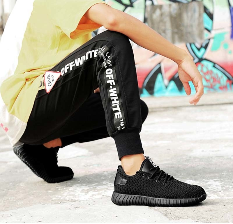 New-exhibition-men-Fashion-Safety-Shoes-Breathable-flying-woven-Anti-smashing-steel-toe-caps-Kevlar-Anti-piercing-mens-work-Shoe (18)
