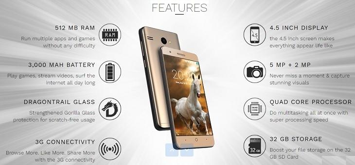 Fero A4502 specs on Jumia