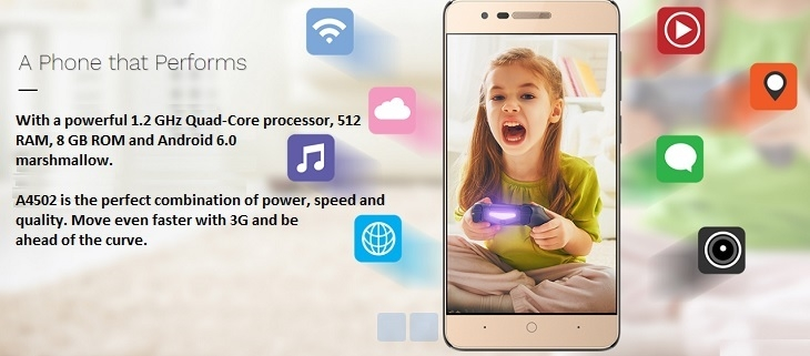Fero A4502 Android Marshmallow