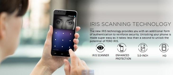 Fero Iris - IRIS scan technology