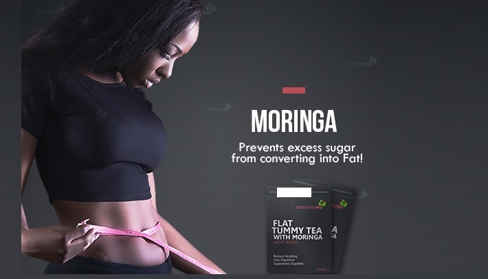 Flat Tummy Tea with Moringa Night Boost delivery in Nigeria