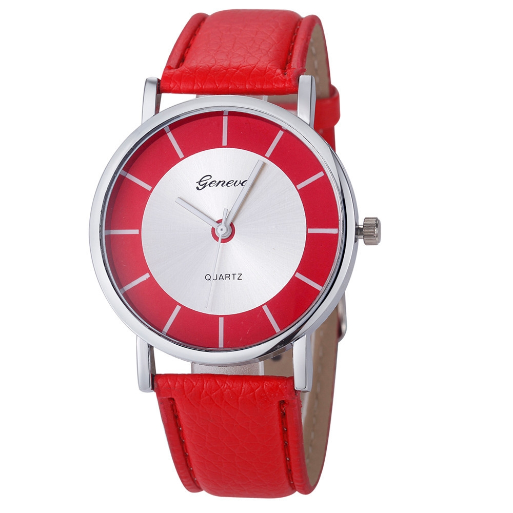 geneva leather watch on jumia