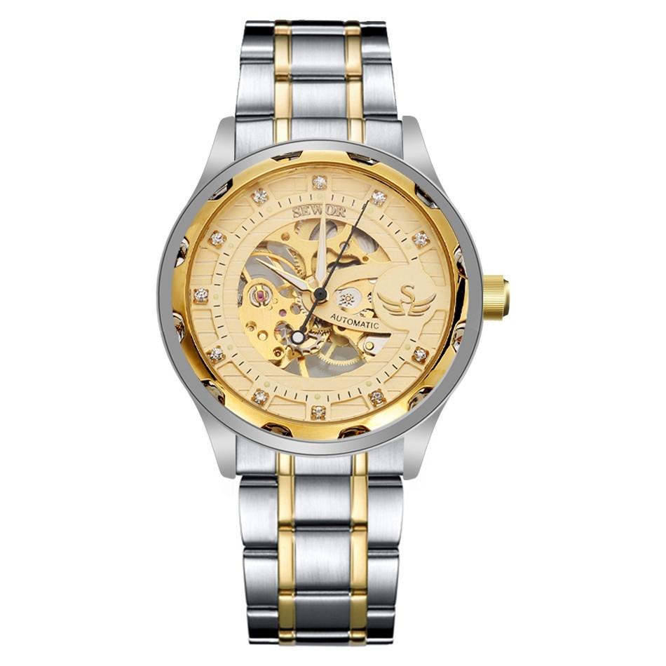 SEWOR SEWOR Luxury Hand Wind Wrist Watches Men Business ...