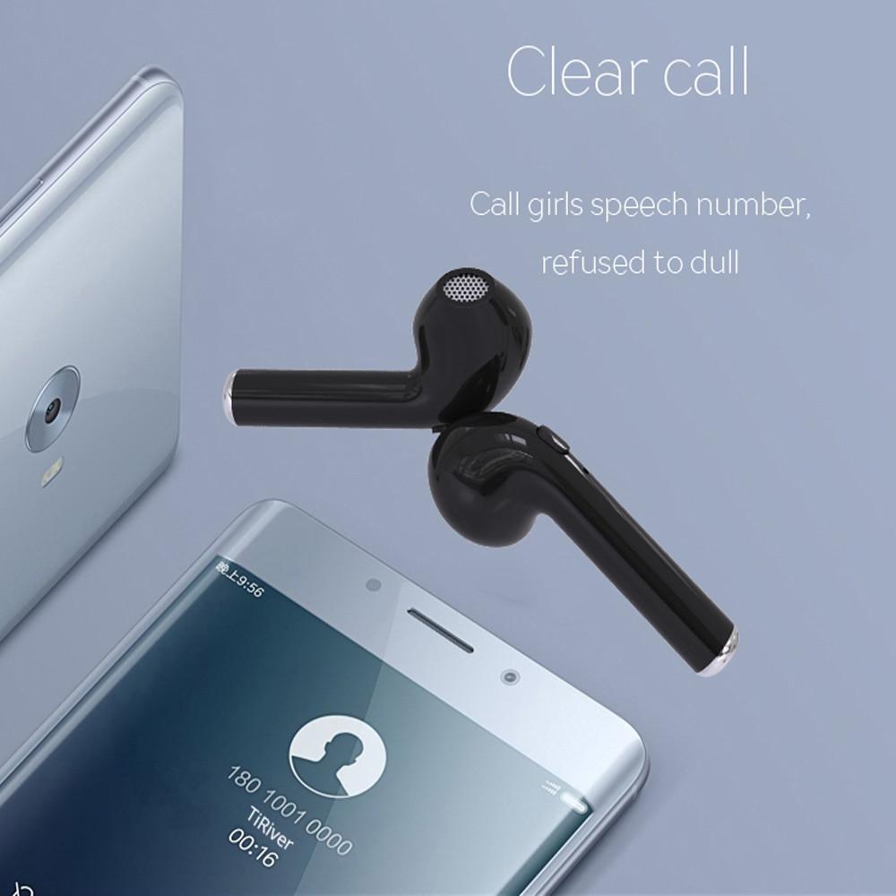 Generic Bluetooth Headphone TWS Earbuds Bluetooth Earphone Twins Wireless  V4 2 Stereo Headset