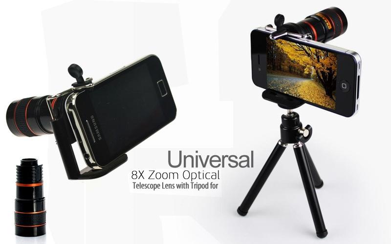 Generic universal mobile phone 8x telephoto lens mobile telescope