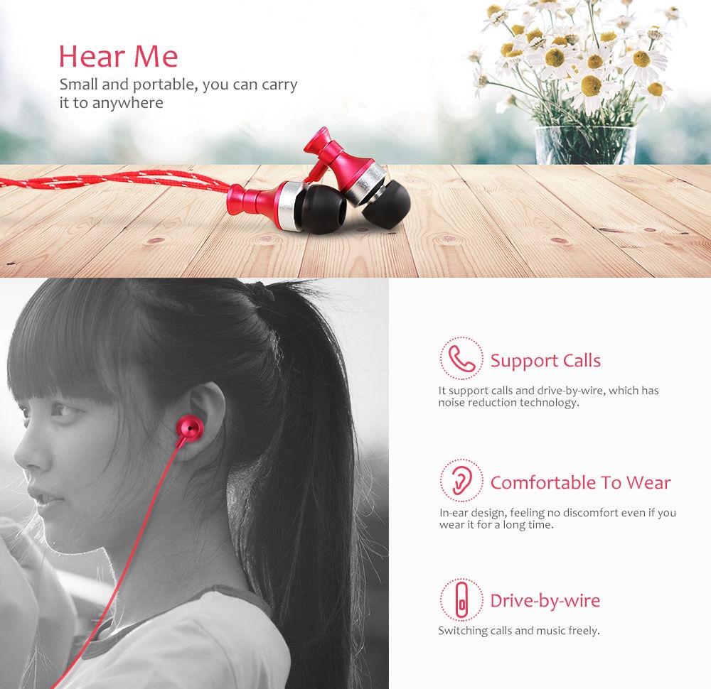 3.5MM HiFi Stereo Music In-ear Earphones