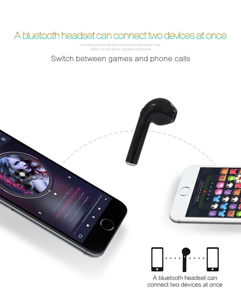 3 mini wireless in ear earpiece