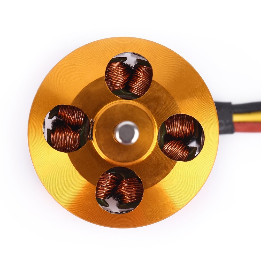 Generic TA A2212 KV2200 Brushless Motor For RC Multirotor Aircraft Model Airplane*Silver & Golden price in nigeria