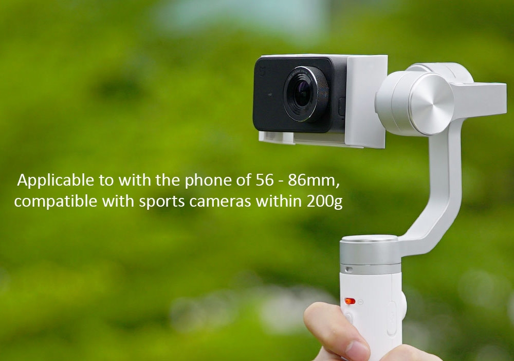 Xiaomi Mijia SJYT01FM 3 Axis Handheld Gimbal Stabilizer with 5000mAh Battery for Action Camera and Phone