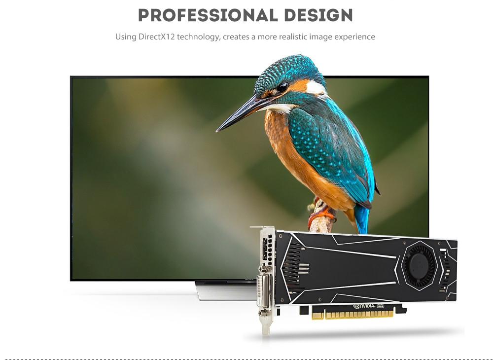 ASL G1504 Graphics Card 4GB 128bit GDDR5 HDMI / DVI 768 CUDR Core 7008MHz 7680 x 4320 / 60Hz